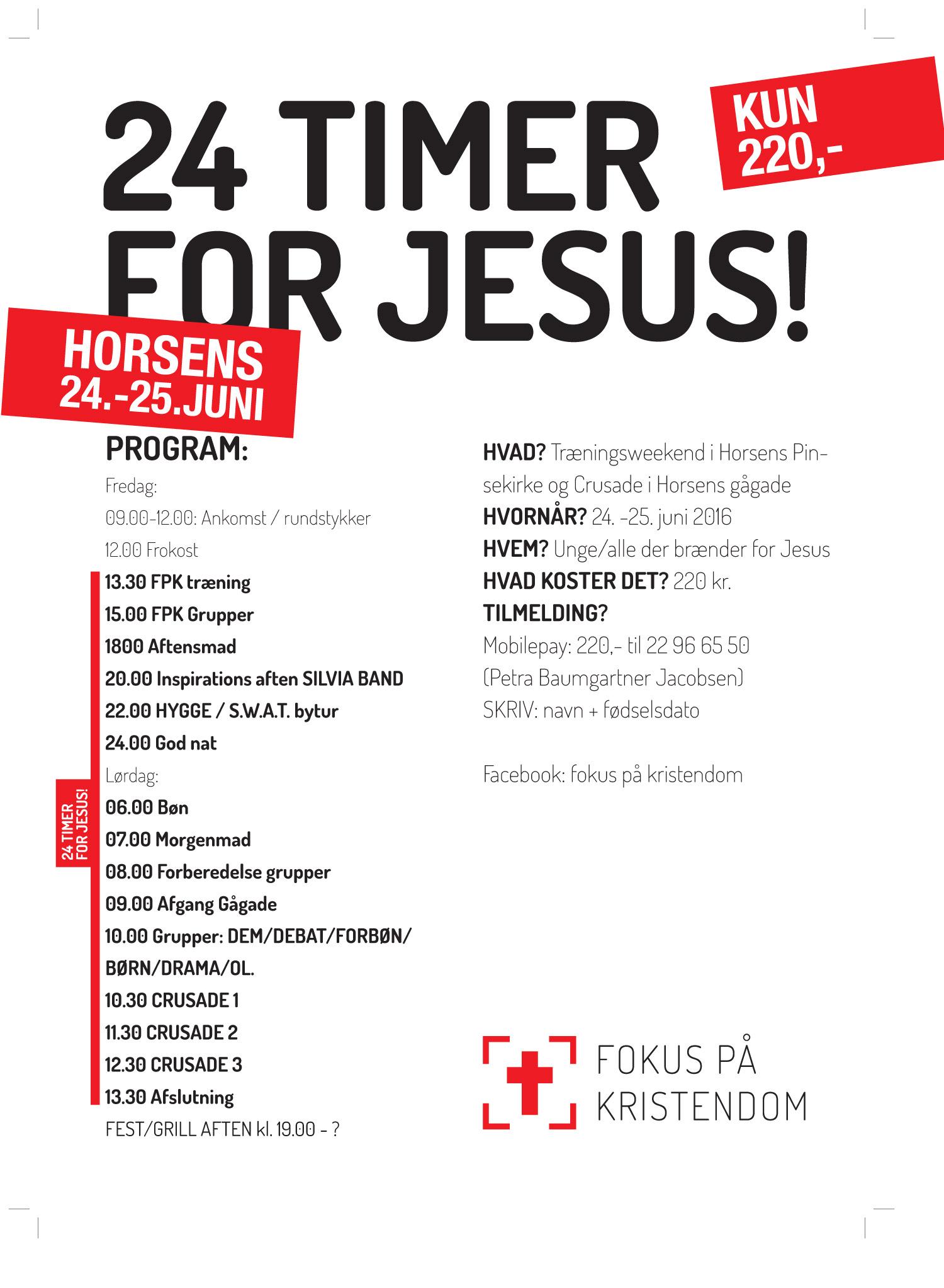 Fokus på kristendom